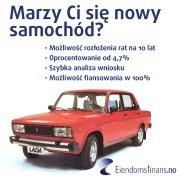 Kredyt na samochód w Norwegii