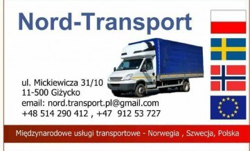 *Nord-Transport: * PL - NO 07.06 / NO - PL 12.06 *