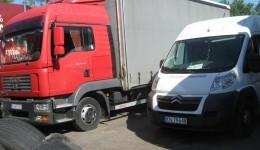 Transport małych i dużych ładunków wyjazd 02-10-17