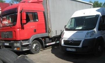 Transport małych i dużych ładunków wyjazd 4-12-17