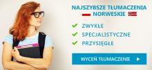 Tłumaczenia norweskie
