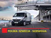 TRANSPORT Norwegia-Polska NO-PL 29.04, PL-NO 04.05