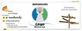 Kursy norweskiego w Drammen, LINGO Martyna Zak, jesień'18
