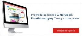 Tłumacz stron internetowych na norweski