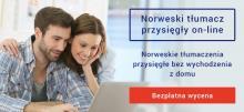 Norweski tłumacz przysięgły online