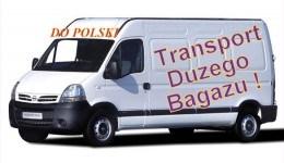 Transport bagażu z Hedmark/Oppland/Oslo do Polski