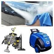 Pranie tapicerek samochodowych, mycie parą