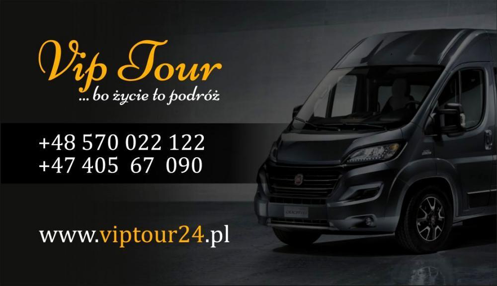 VipTour24.pl - Transport paczki / ładunki  / zakupy z PL