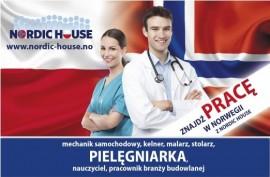 Praca w Norwegii dla dyplomowanych pielęgniarek: 225-240 NOK za godzinę