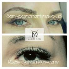 Przedłużanie rzęs,volume lashes,permanent make-up