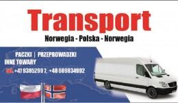Transport, przeprowadzki do PL 8.06 do NO 15.06