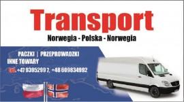 Transport, przeprowadzki, paczki Norwegia-Polska 15.04