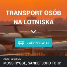 Transfer lotniskowy - Moss Rygge, Sandefjord Torp