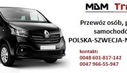 Przewóz Osób, Ładunki Drobnicowe Polska - Norwegia