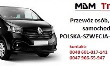 Przewóz Osób i Paczek, Zakupy Ostrów Wlkp.- Oslo