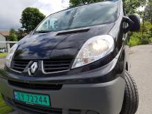 Renault Trafic 2.0 2012r long L2H1  NAVI  webasto