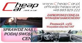 Wynajem samochodów - Sprawdź nas!