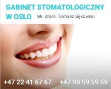 POLSKI DENTYSTA - OSLO / 30 lat doświadczenia w zawodzie