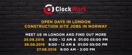 A może Praca na budowie w Norwegii? DNI OTWARTE W LONDYNIE