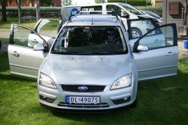Ford Focus 1,6 tdci 109 hk Ghia kombi 133 900 Km