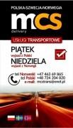 PACZKI POLSKA-NORWEGIA MCS 25/26.07.19