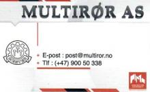 Firma Multirør AS Usługi hydrauliczne