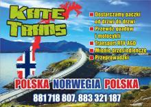 Transport Polska Norwegia Polska