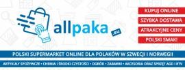 Allpaka - największy polski market w Norwegii!