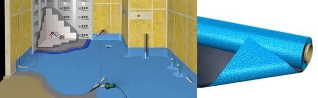 Membrany łazienkowe % Od Zlecen / Rusztowanie