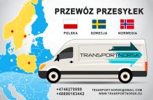 Paczki Polska - Szwecja / Norwegia - Polska - raz w tygodniu