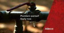 Plumber - where job satisfaction is important