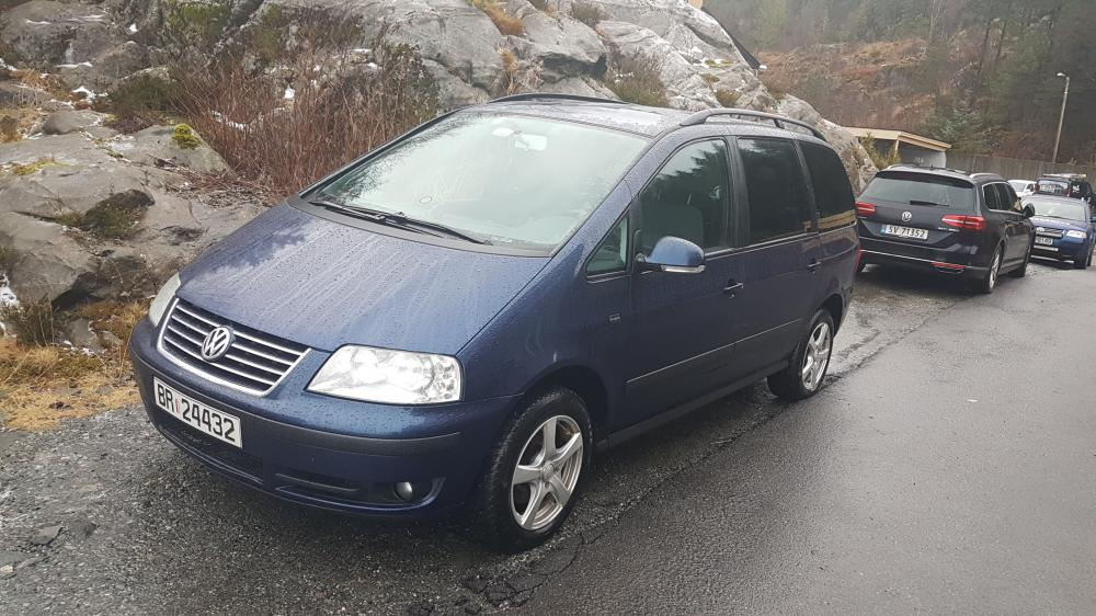 VW Sharan 1.9tdi 116km 2005r EU do 02.2019