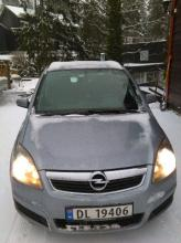 Opel Zafira 1.6 benzyna; 7-osobowy, EU 06.2019