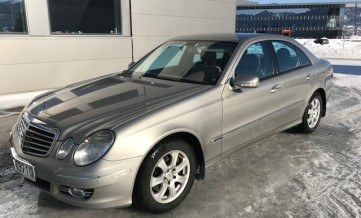 Mercedes-Benz E350, benzyna, 4matic