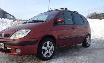 RENAULT  SCENIC 1,6 BENZYNA