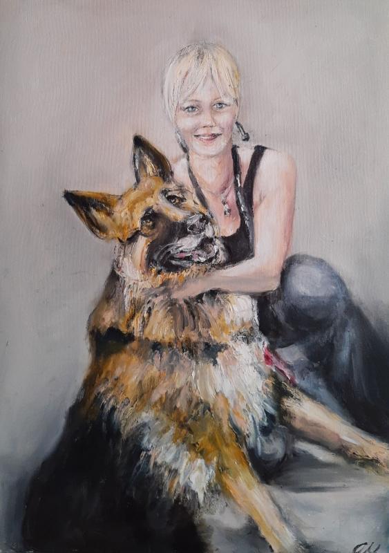 Portrety na zamówienie malowane ze zdjęć