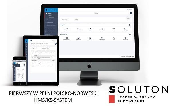 Aplikacja do zarządzania Norweskimi budowami i remontami HMS/KS-SYSTEM i Timeregistrering