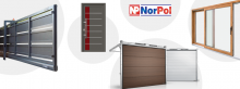 Sprzedaż, import i montaż materiałów budowlanych, okien, drzwi, bram garażowych i przemysłowych_NorPol_cała Norwegia
