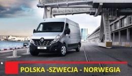 TRANSPORT Norwegia-Polska JEZDZIMY CO TYDZIEŃ