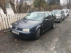 VW Golf IV 1,9 tdi 4 motion