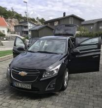 Chevrolet Cruze 2014 rok , 43000 km SUPER stan 150.000 NOK