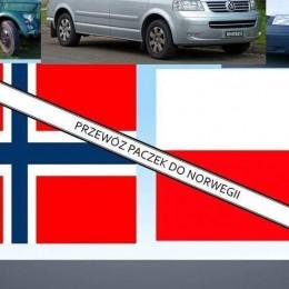 Przewóz paczek do Norwegii.