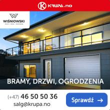 Wiśniowski i Drutex - dostępne w Norwegii - Okna PVC i aluminiowe, rolety, bramy i inne