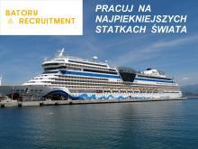 Praca na ekskluzywnych statkach wycieczkowych