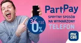 Telefon na raty 0% PartPay – nowa usługa dla klientów MyCall