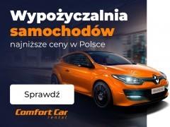 WYPOŻYCZALNIA SAMOCHODÓW - Najniższe ceny w Polsce!