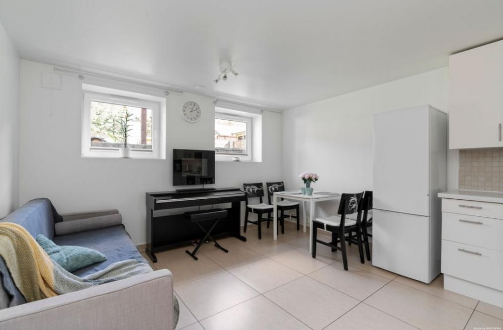 Sandnes-Håbafjell, 2 pokoje +kuchnia z salonem