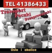 Transport , paczki przeprowadzki / laweta - na terenie Oslo i okolic