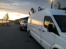 Laweta przyczepolaweta Bus Østfold Fredrikstad