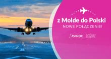 Nowe połączenie -  WizzAir uruchamia loty z Gdańska do Molde